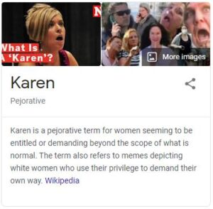 Karen Pejorative
